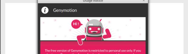 Linux Mint üzerine Genymotion(Android Emulator) Kurulumu