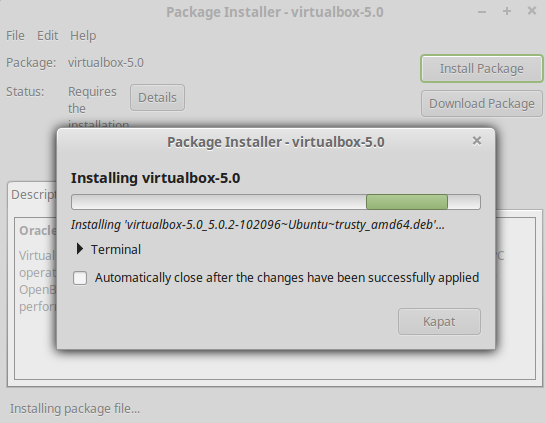 Linux mint Virtualbox kurulumu 11